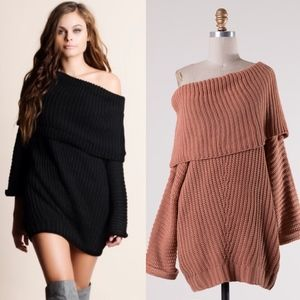 SYDNEY sweater top - CLAY